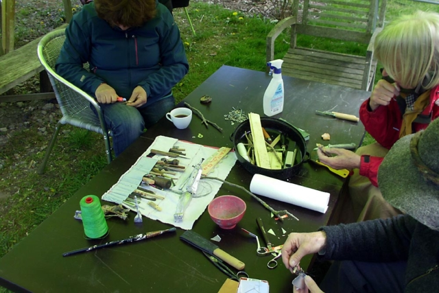 Kunst Workshop in der Prignitz