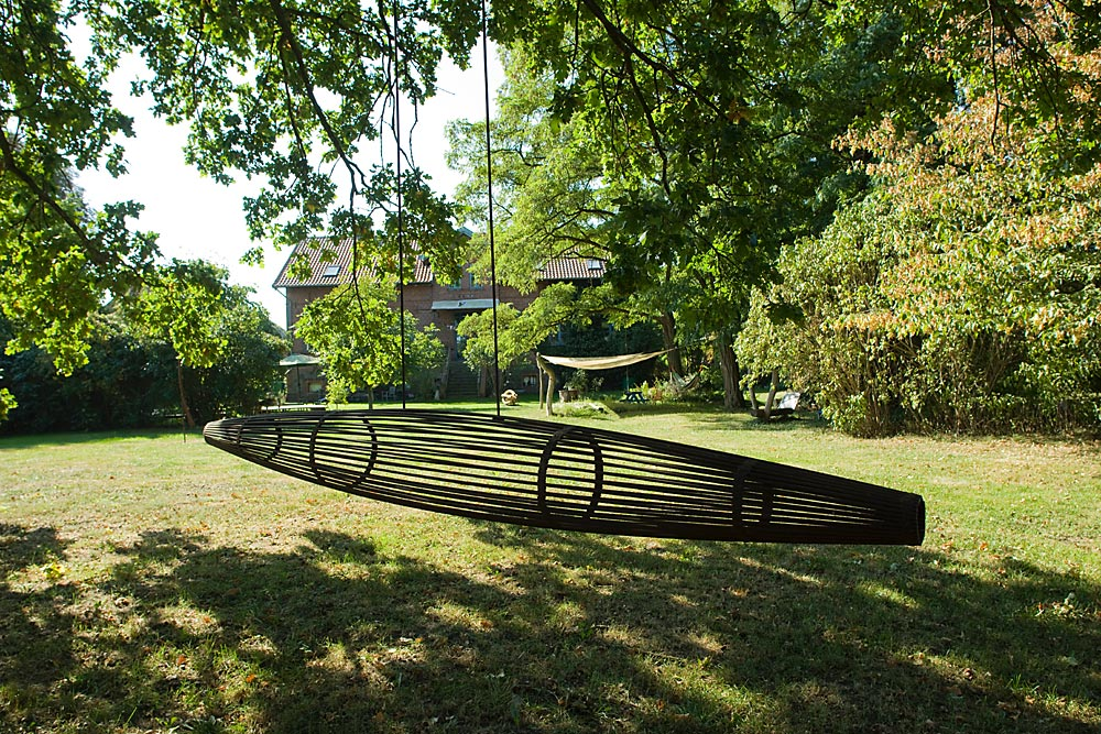 "Skulpturenpark ""Atelier im Grünen"", Prignitz, Foto: Michael Haddenhorst"