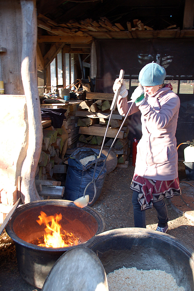 Raku-Keramik-Workshop 2019 in der Prignitz, Brandenburg